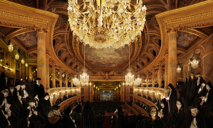 "Jean-Francois Rauzier, ""Versailles Opera"" at Waterhouse & Dodd"